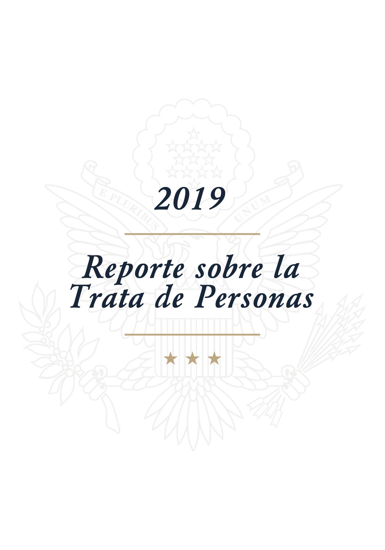 Reporte sobre la Trata de Personas 2019