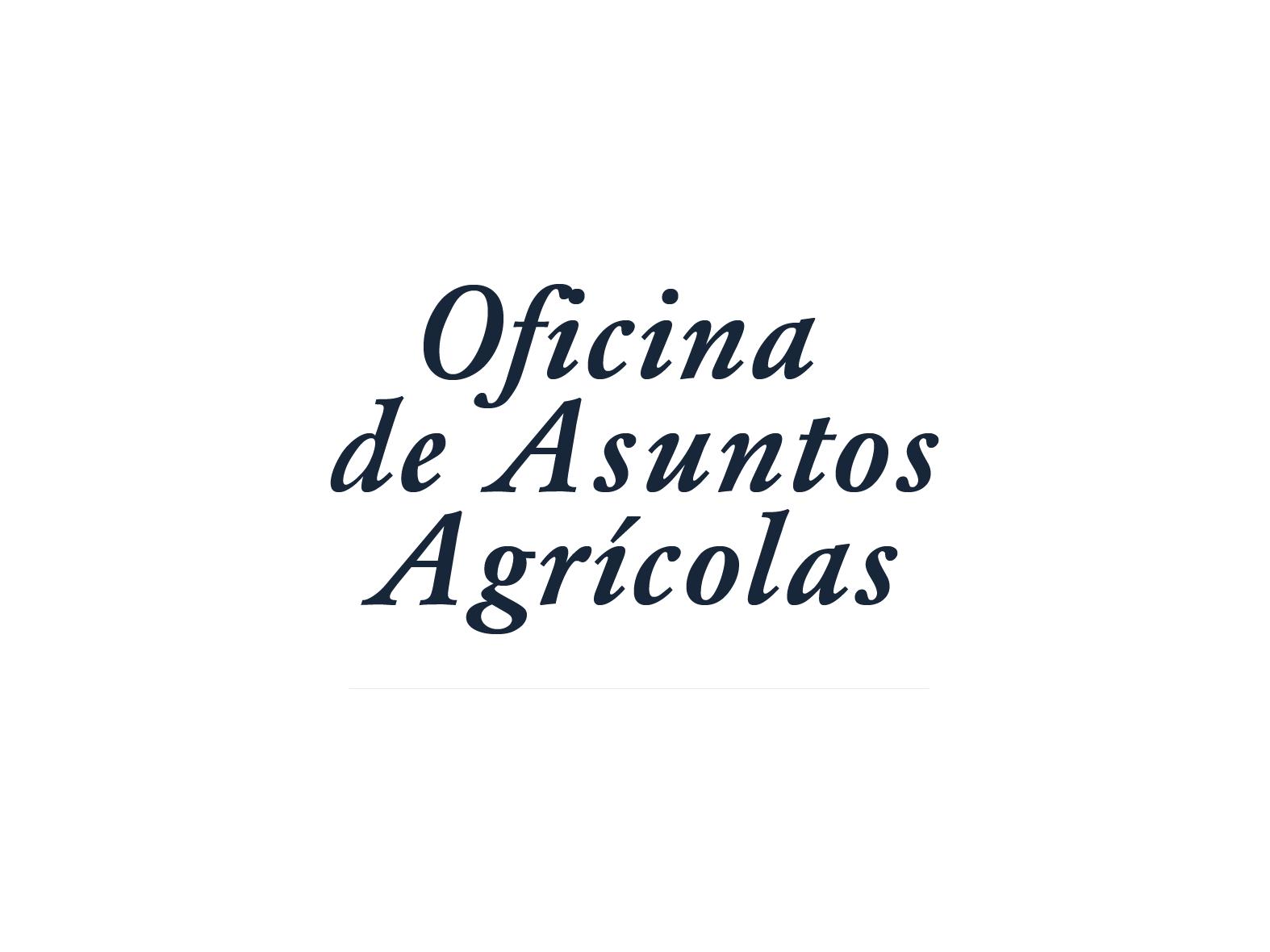 Oficina de Asuntos Agrícolas