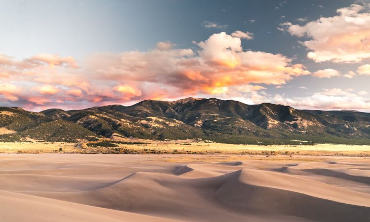 Scenic photo of Sand Dunes