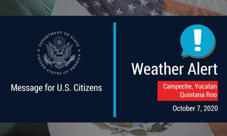 Department of State Weather Alert