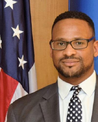 Deputy Chief of Mission Jarahn Hillsman