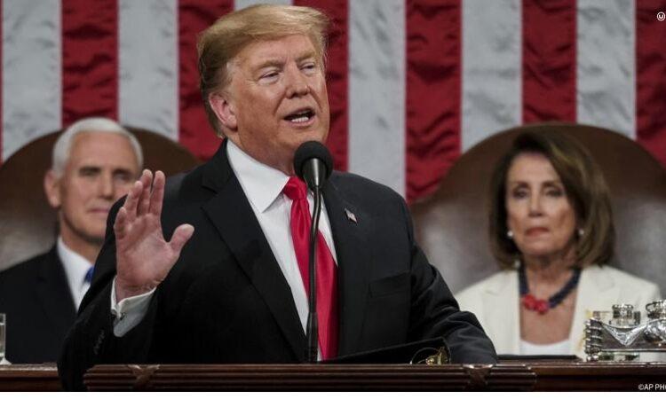US-Präsident Donald J. Trump im Kongress