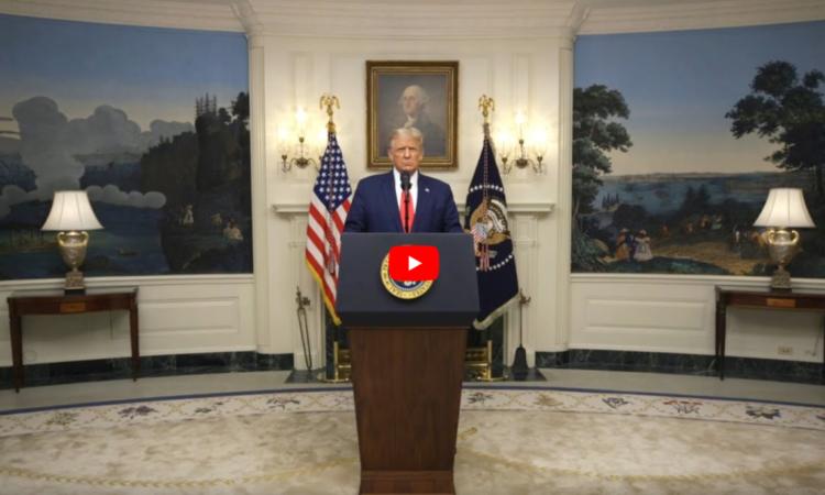 US-Präsident Trump hält Videoansprache bei UN-Vollversammlung