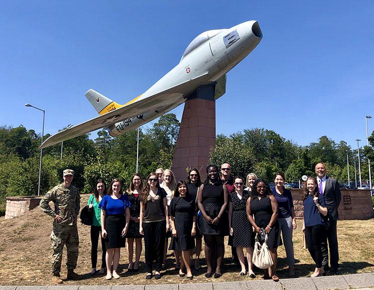Interns work alongside Foreign Service Officers