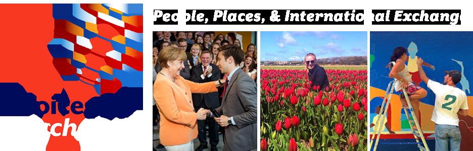 Merkel shakes hand with alum