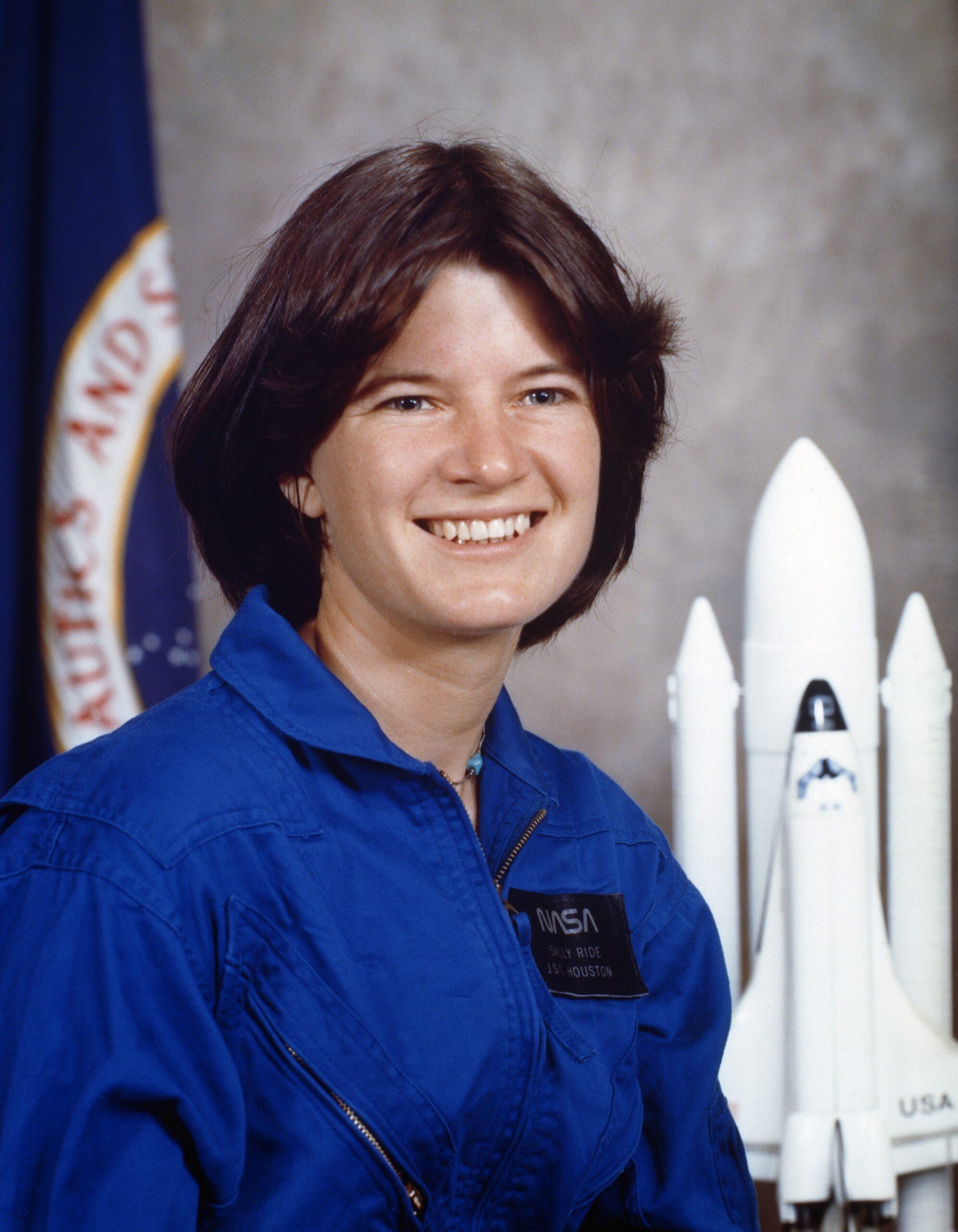 Sally Ride 1979 NASA Portrait