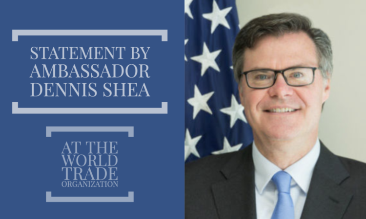 Ambassador Dennis Shea Smiling