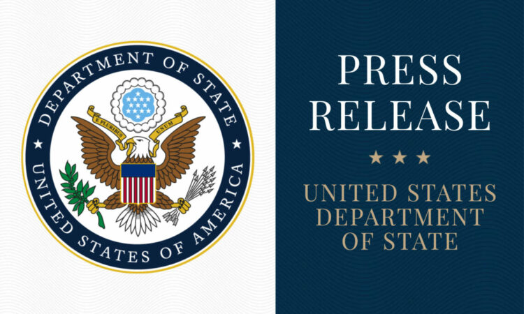 State Department Press Release Logo