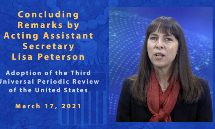 Third Universal Periodic Review (UPR) of the United States
