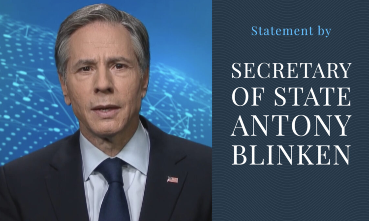 Statement by Secretary of State