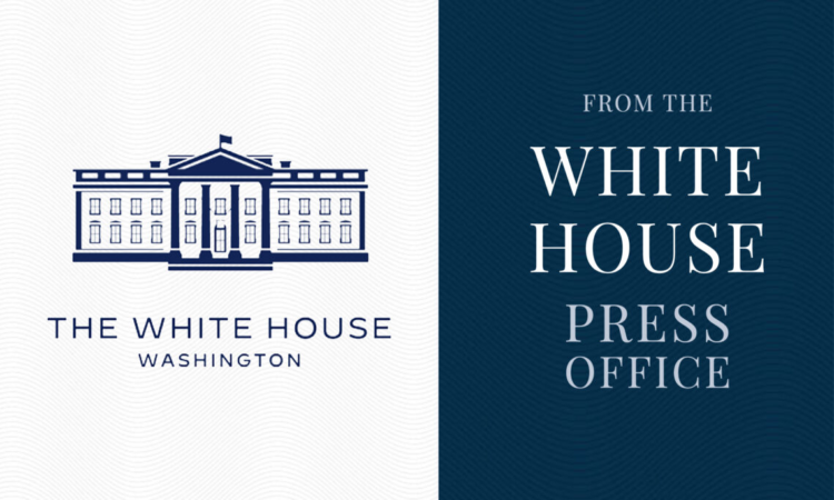 From the White House Press Office