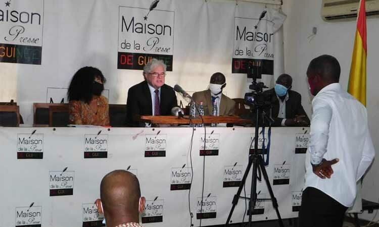 Conakry Elections Press Conference