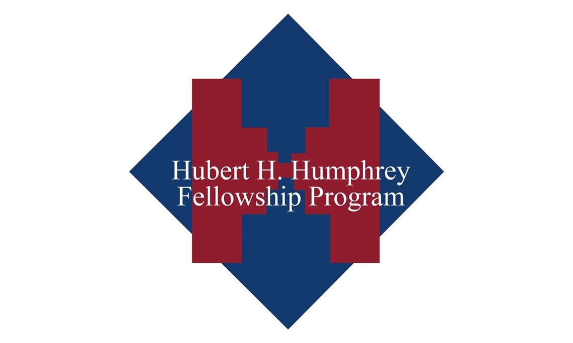 hubert humphrey fellowship program banner