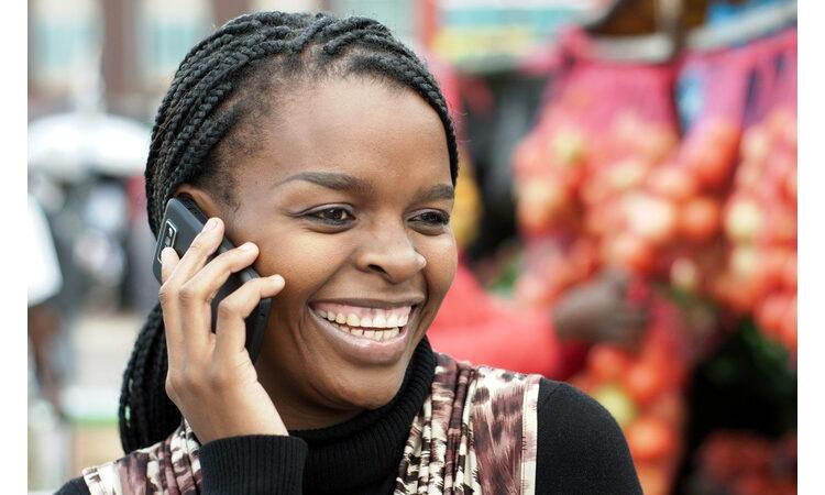 Woman talking on mobile phone (Shutterstock)