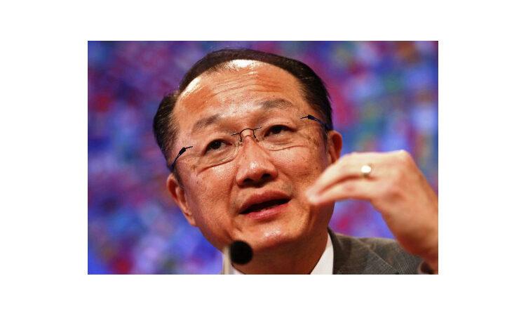 Close-up of Jim Yong Kim (AP Images)