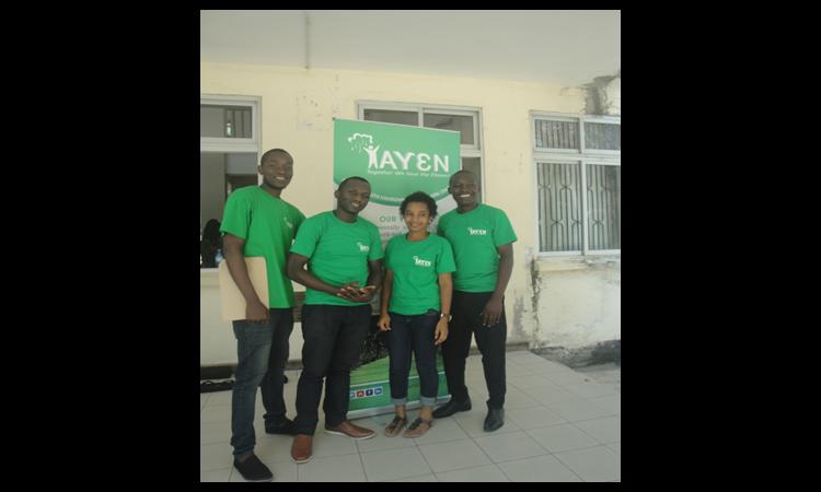 TAYEN members in University of Dar es Salaam