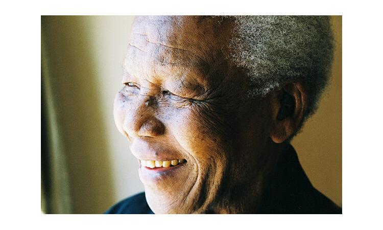 Portrait of Nelson Mandela taken by Matthew Willman