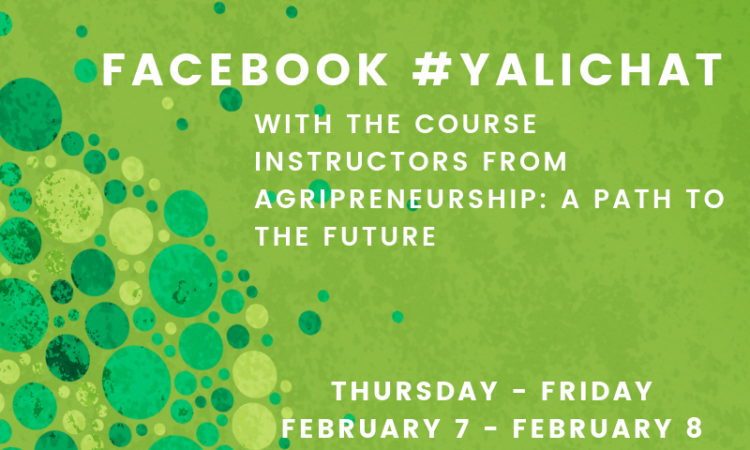 #YALICHAT Wrap-Up: Starting your own Agribusiness