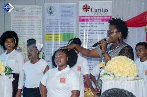 Corine Hounsou demonstration