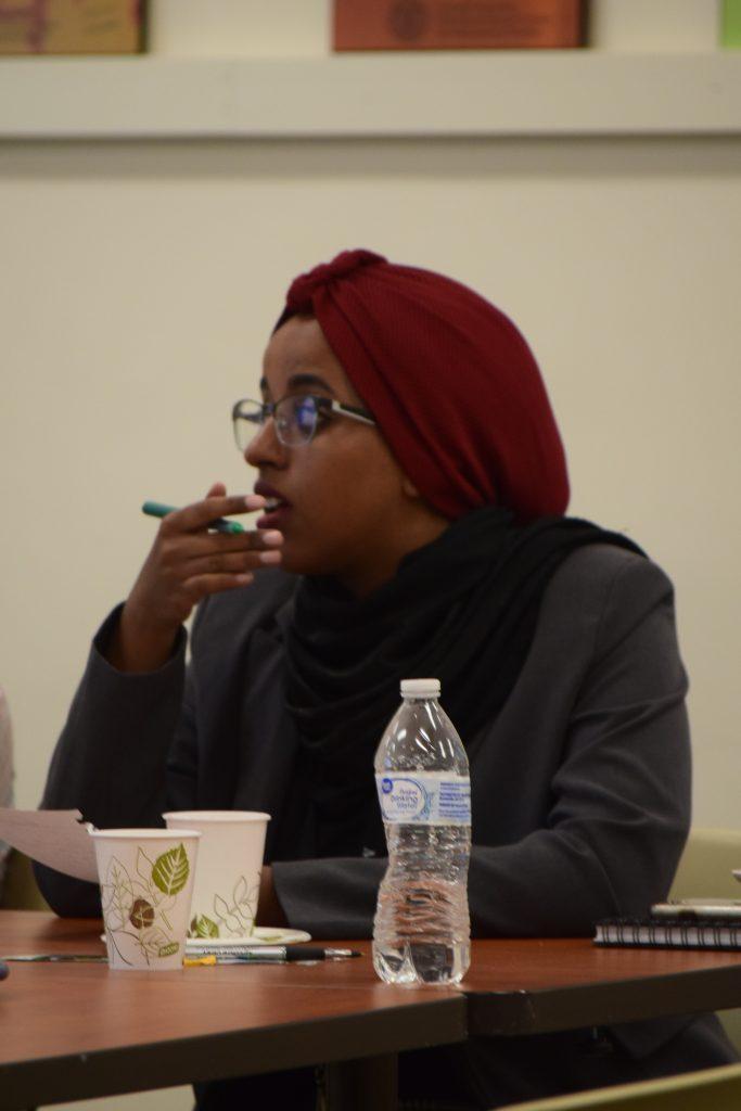 Ruaa at Cornell University during her 2019 Mandela Washington Fellowship