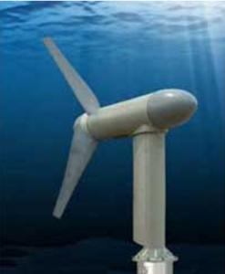 Turbine under water (NASA)