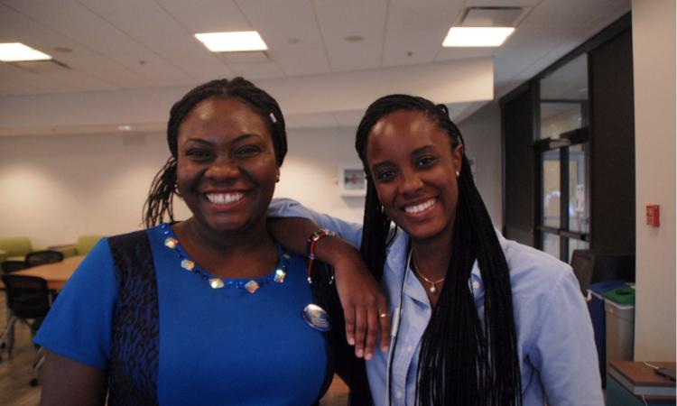 Wuraoluwa Ayodele and Masele Msita