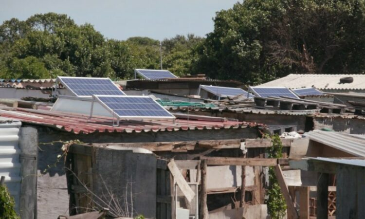 Solar panels on roofs (State Dept.)