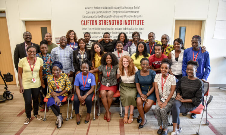 Augustine at the 2019 Mandela Washington Fellowship