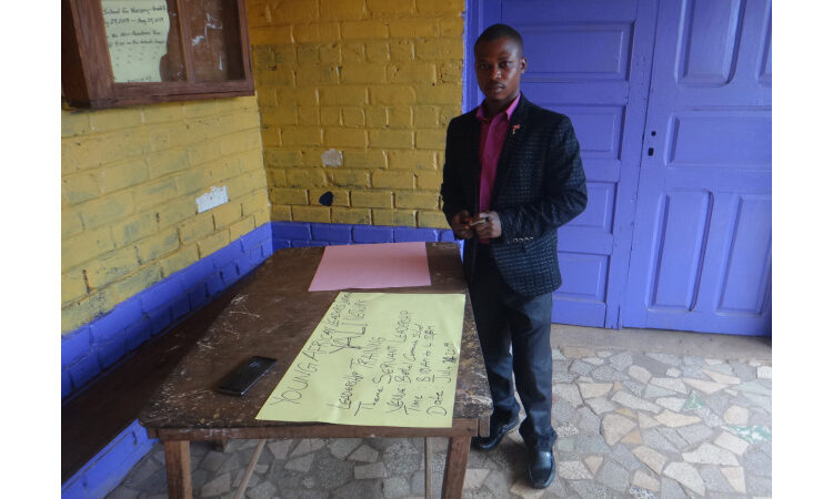 Abel at his YALILearns session in July 2019