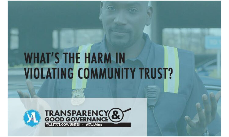 What's the harm in violating community trust?