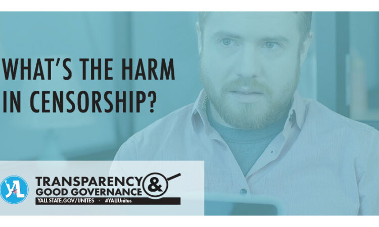 whats the harm in censorship?