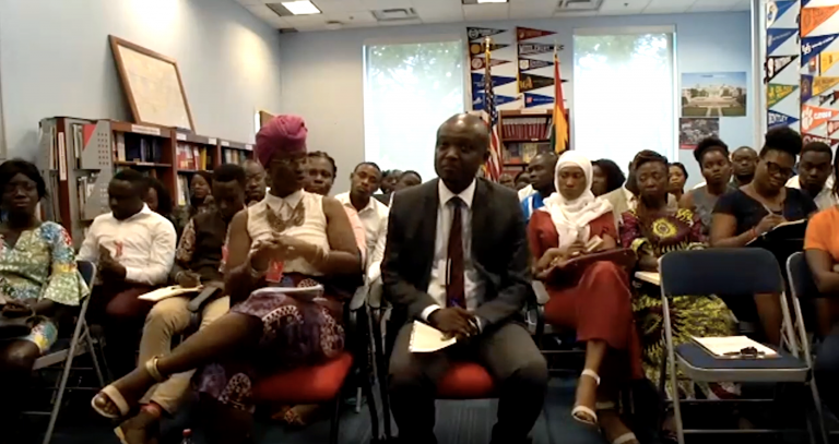 AGOA session participants at the U.S. Embassy in Accra