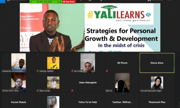 Screenshot from Javnyuy's YALILearns session