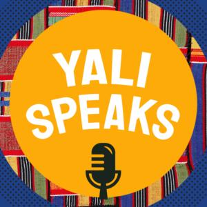 YALI SPEAKS with microphone