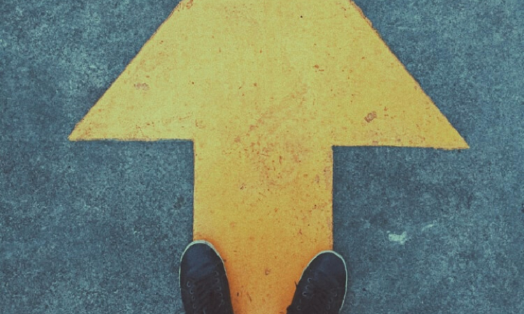 arrow in street
