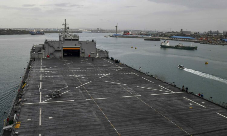 USS Hershell Mombasa