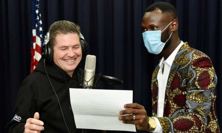 U.S. Ambassador to Kenya Kyle McCarter features in a new music video for peace with Kenyan rapper King Kaka for the 16BarsforPeace hip hop campaign