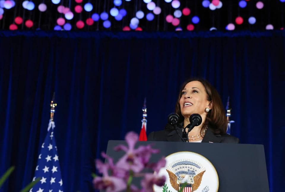 Vice President Harris in Singapore. Photo credit: U.S. Department of State.