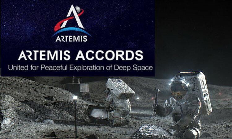 Arttemis Accords logo