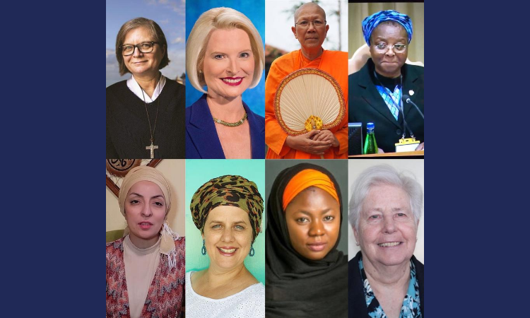Picture of important figures in Womens Faith and Dignity