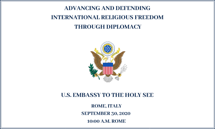 Symposium on Advancing and Defending International Religious Freedom