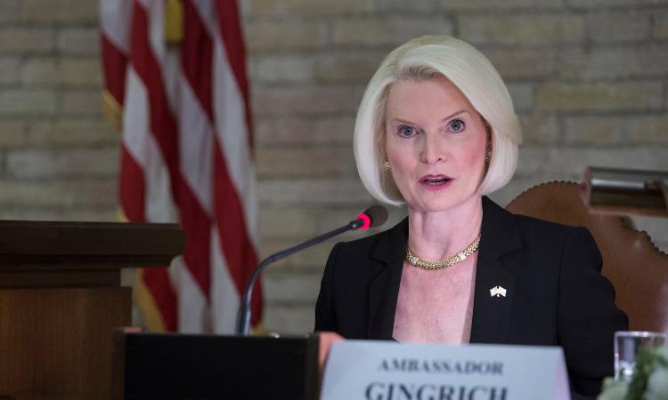 Ambassador Gingrich: Human Trafficking speech