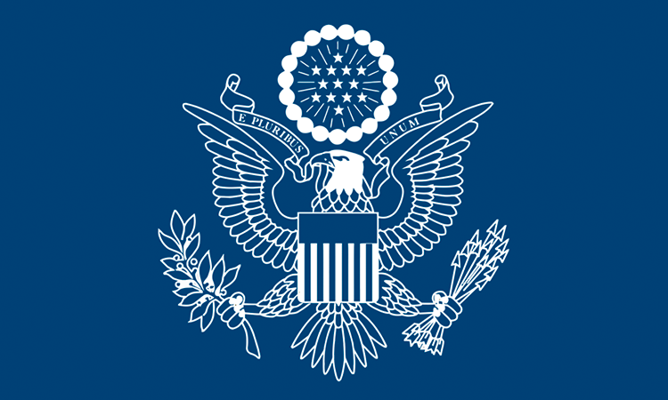 Blog Seal with Eagle